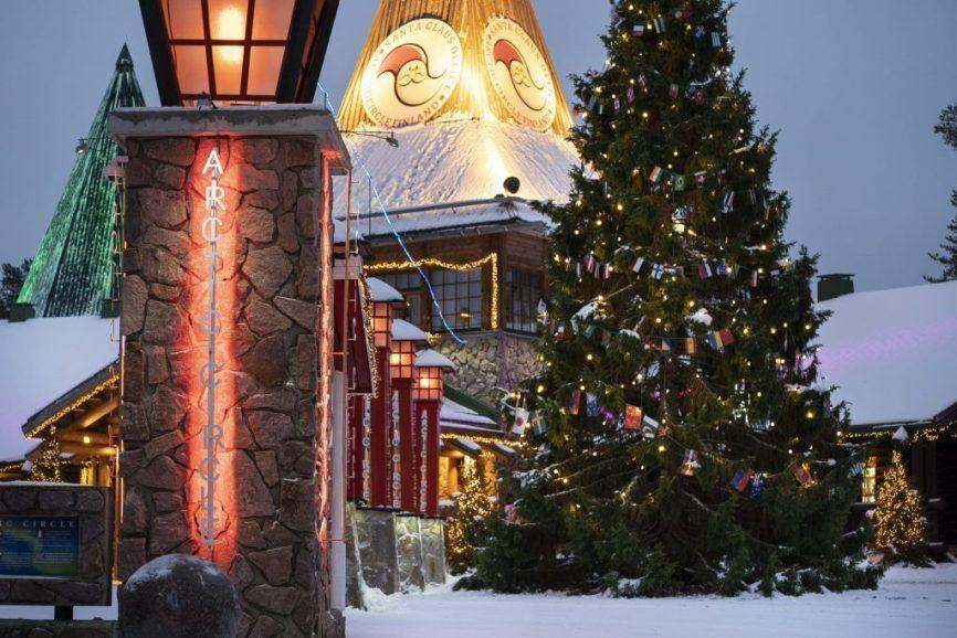 Резиденция Санта-Клауса в Лапландии