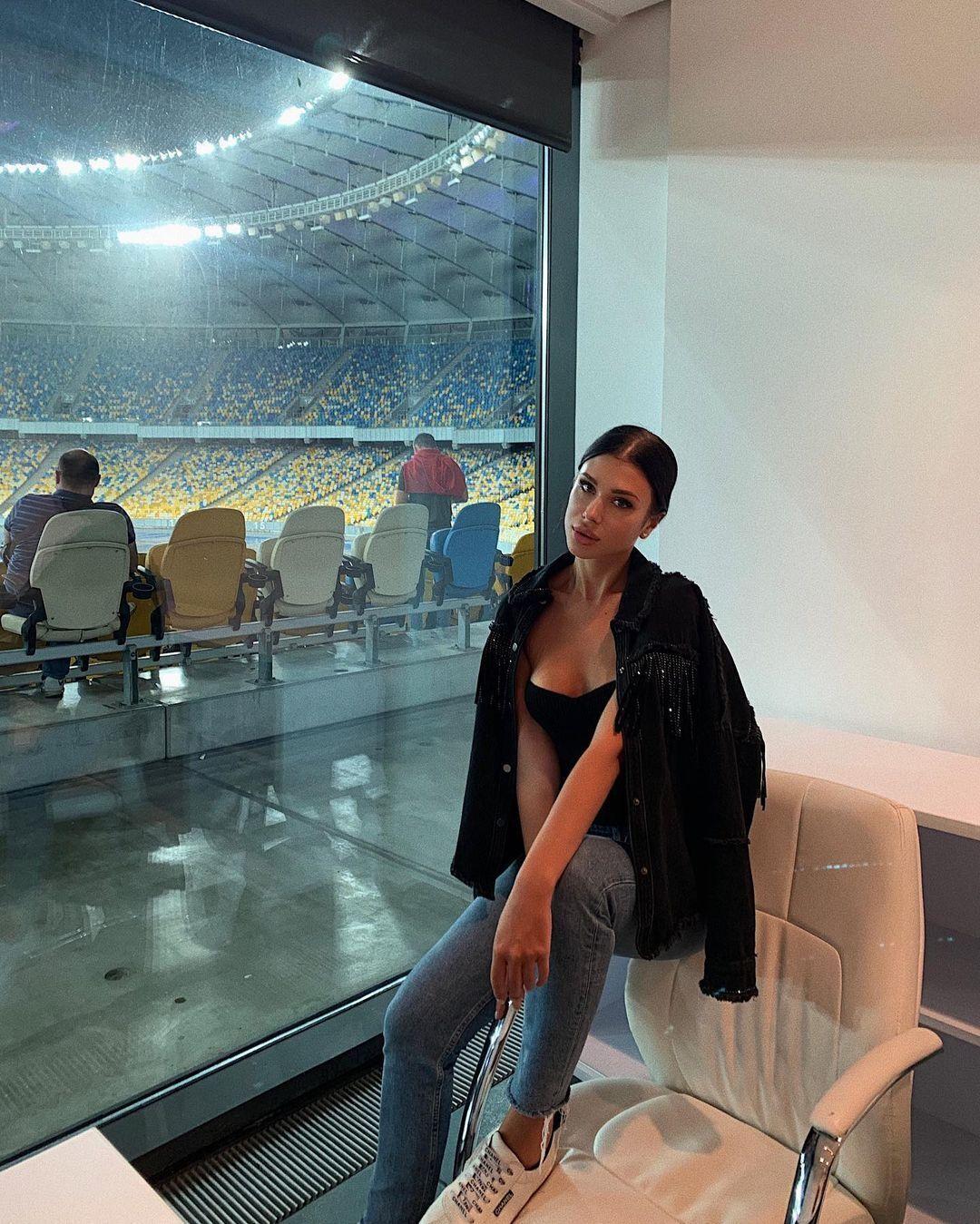 Анастасія Гладун на футболі