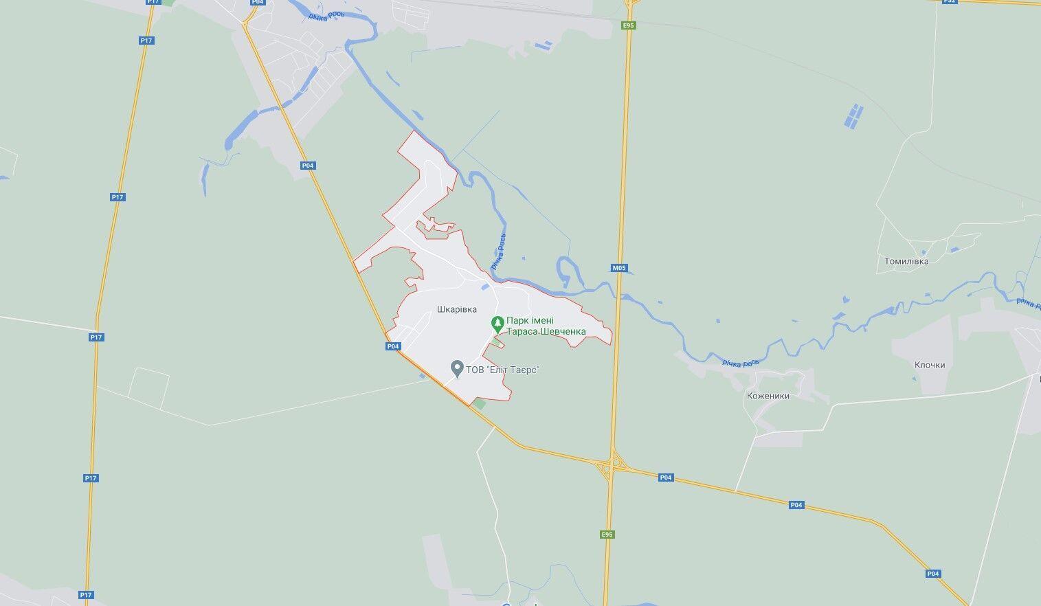 ДТП произошло на трассе Киев – Одесса.