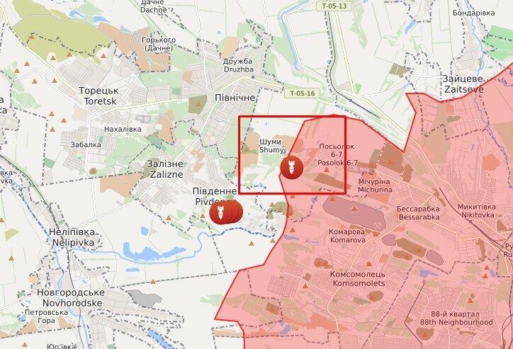 В районе Шумов воин ООС попал под обстрел террористов.