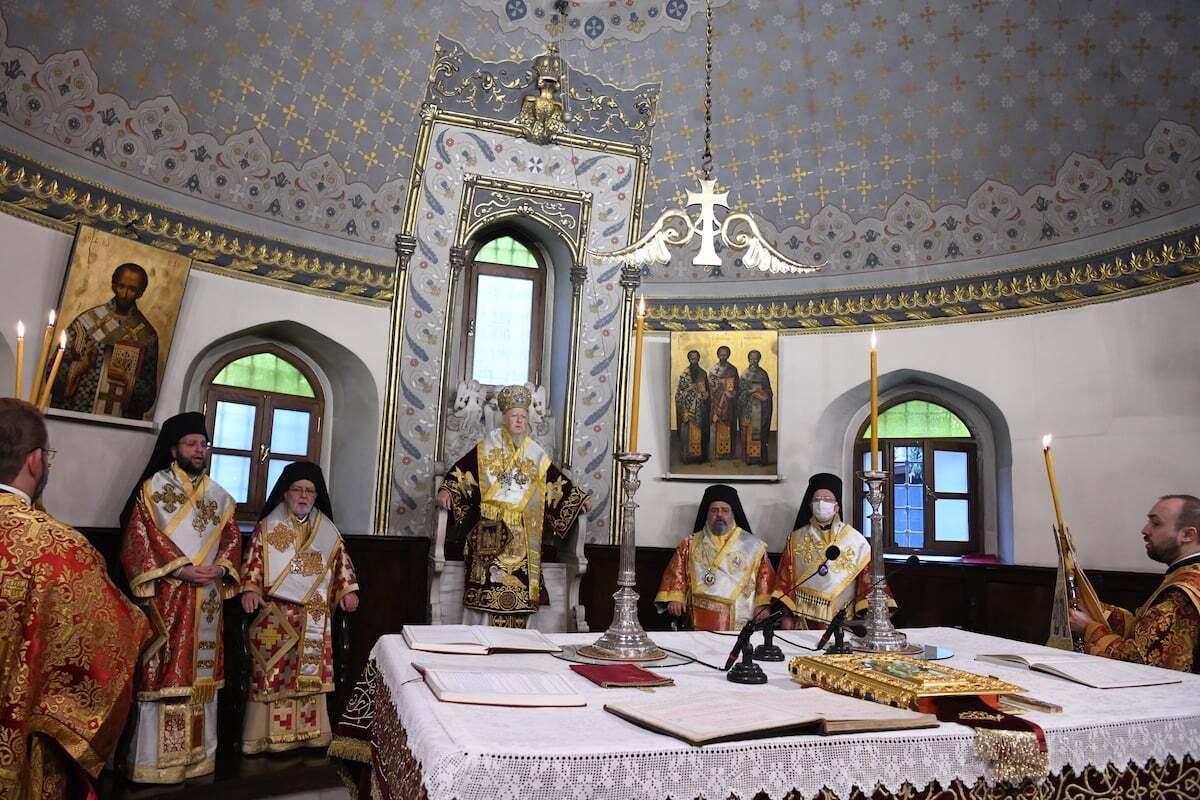 Состоялась Божественная литургия