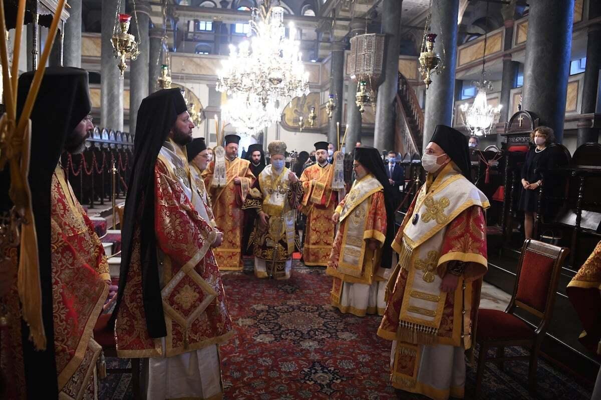 В церкви Пятидесятницы состоялась Божественная литургия