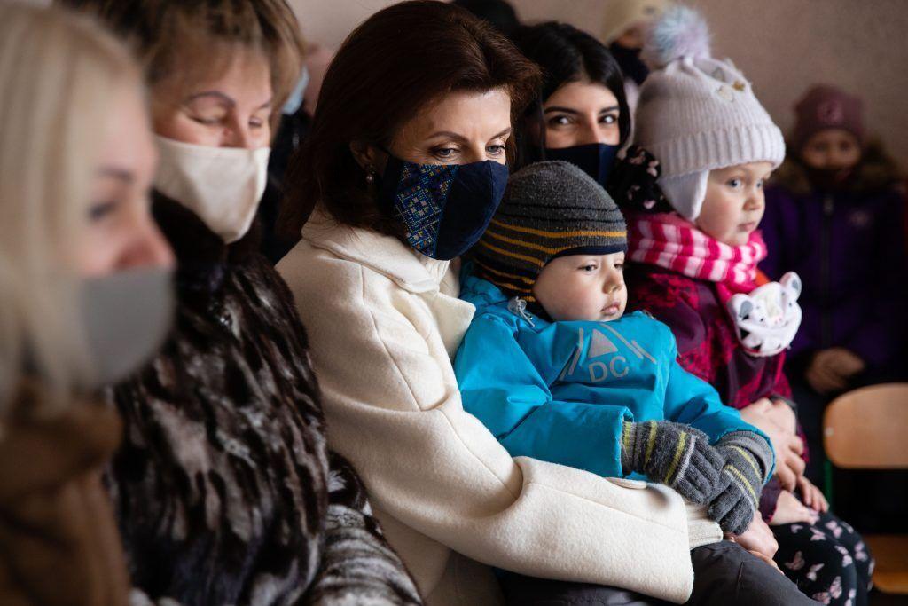 Центр, який відвідала Марина Порошенко - один із 700 відкритих за останні три роки