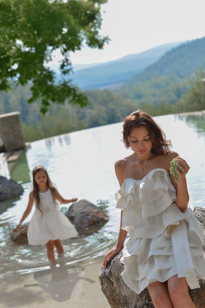 Ольга Муравицкая с дочерью Софией