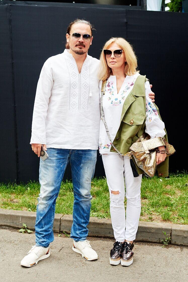 Фагот і Ольга Навроцька.