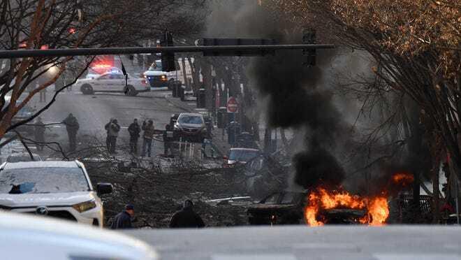 Взрыв произошел в центре города