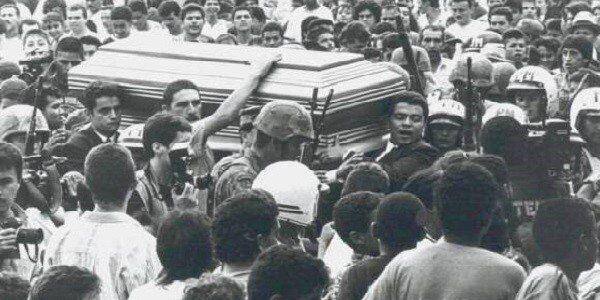 Похорон Пабло Ескобара