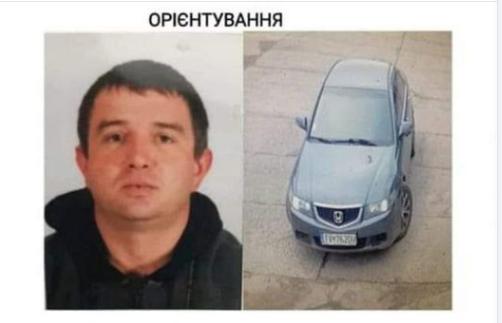 Олег подъехал на место убийства на своей Хонде