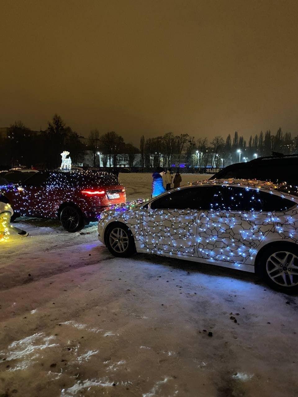 Автомобілі з вогниками