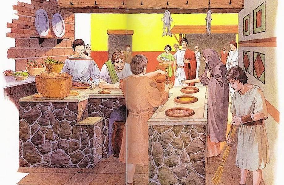 Такий вигляд мав давньоримський термополій