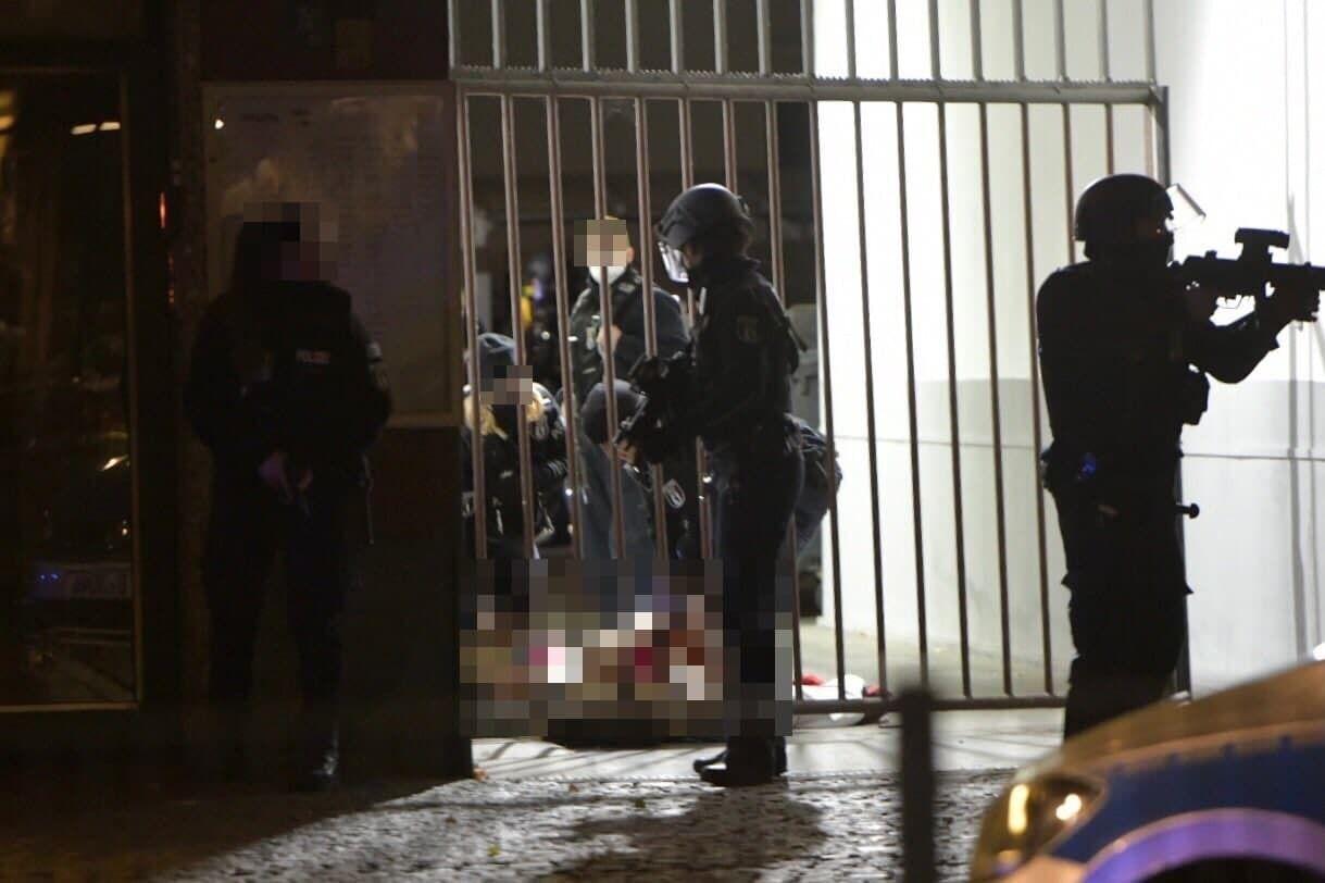В районе Берлина Кройцберг произошла стрельба