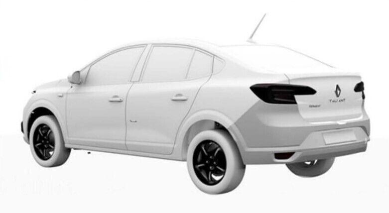 Конкретна машина отримала ім'я Renault Taliant