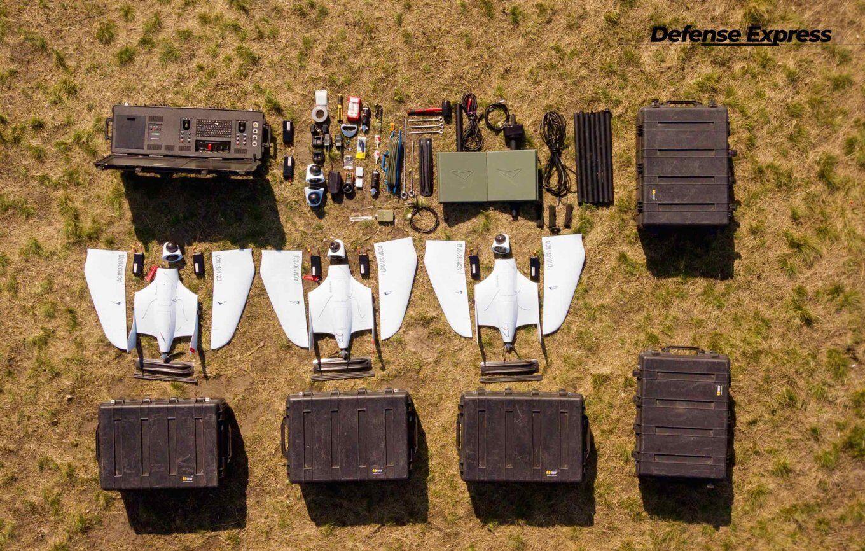 Поставлено майже 100 комплексів з двома-трьома дронами у кожному