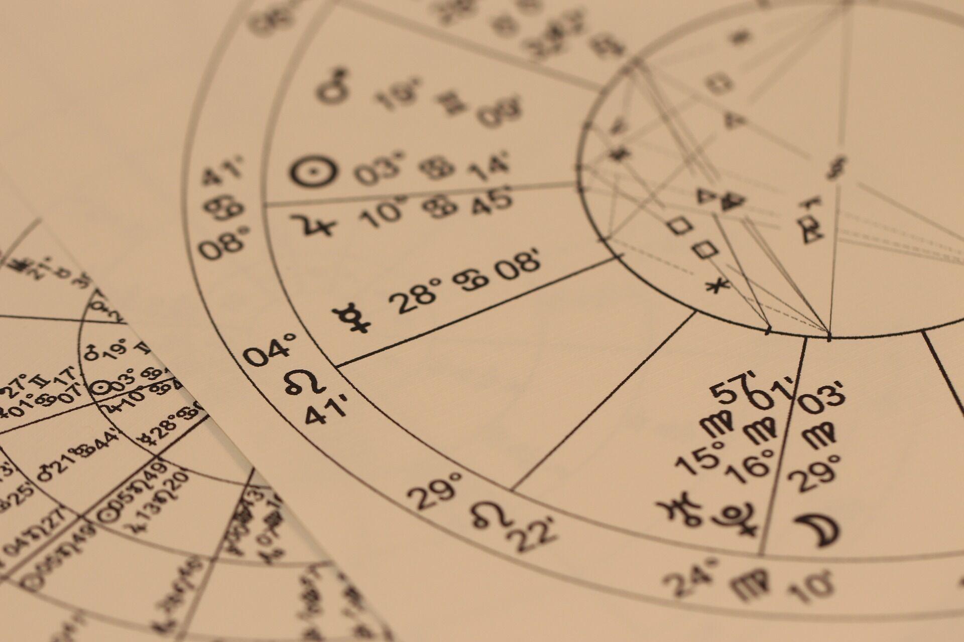 Карта звездного неба.