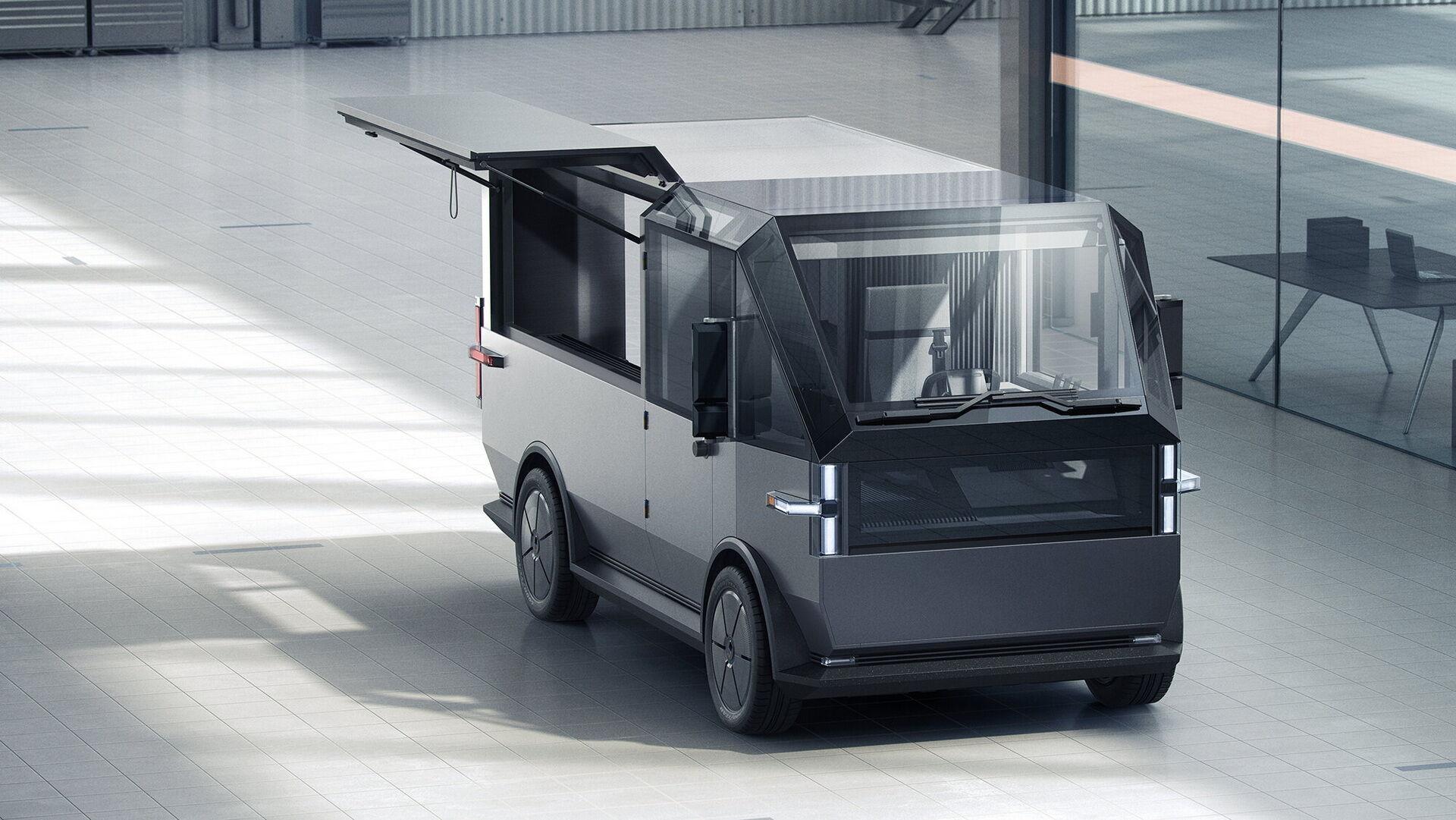 Електромобіль можна використовувати як для доставки, так і для організації пересувної торгівлі або кафе на колесах