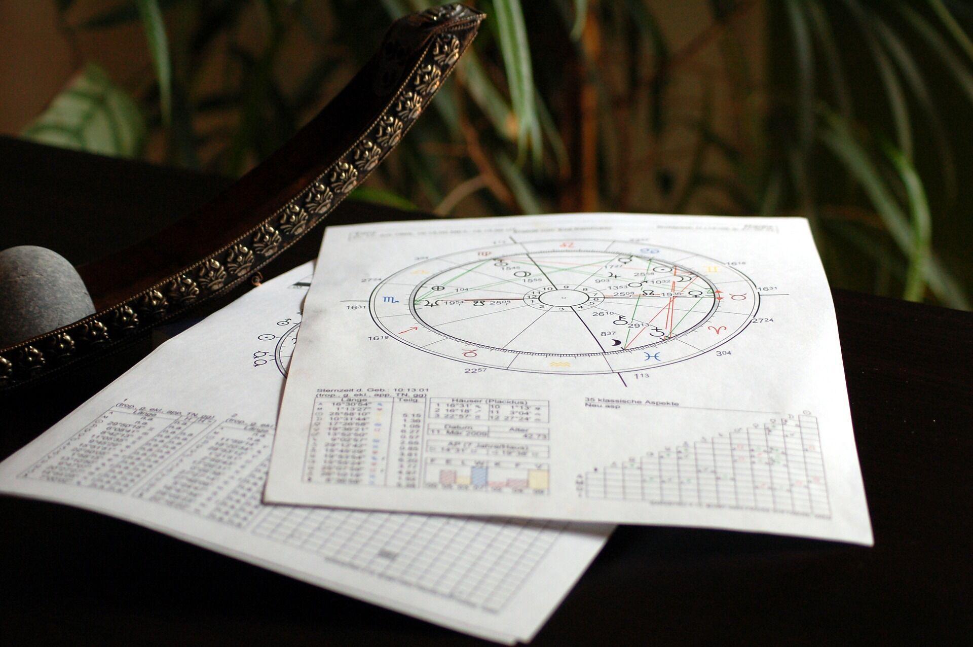 Астрологическая карта.