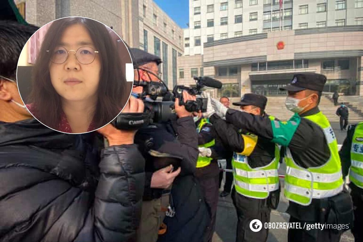 Чжан Чжань засудили до 4 років в'язниці за репортажі про COVID-19 в Ухані
