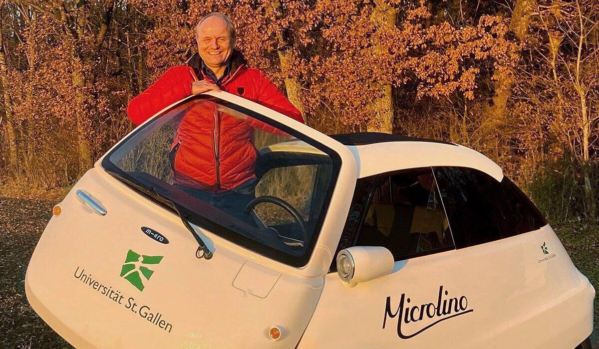 До наглядової ради MMS прийшов Ганс-Петер Клебіндер, який брав участь у тестах першого Microlino