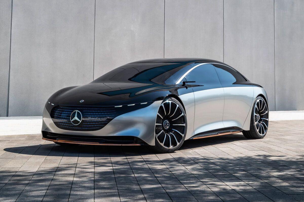 Mercedes Vision EQS вирушить на конвеєр майже без змін