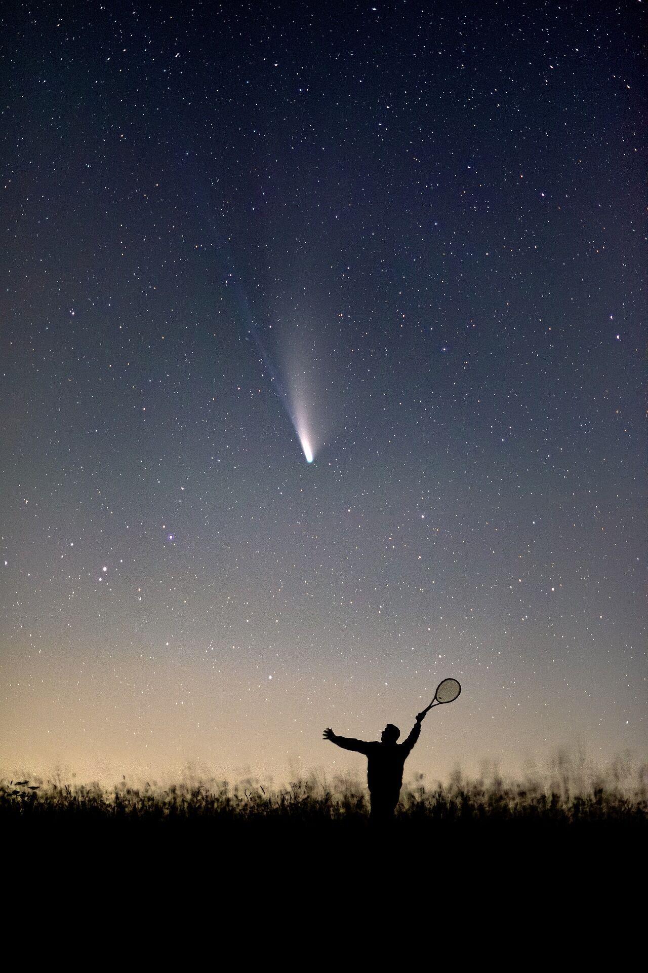 Наблюдать звездопады лучше всего вдали от огней города