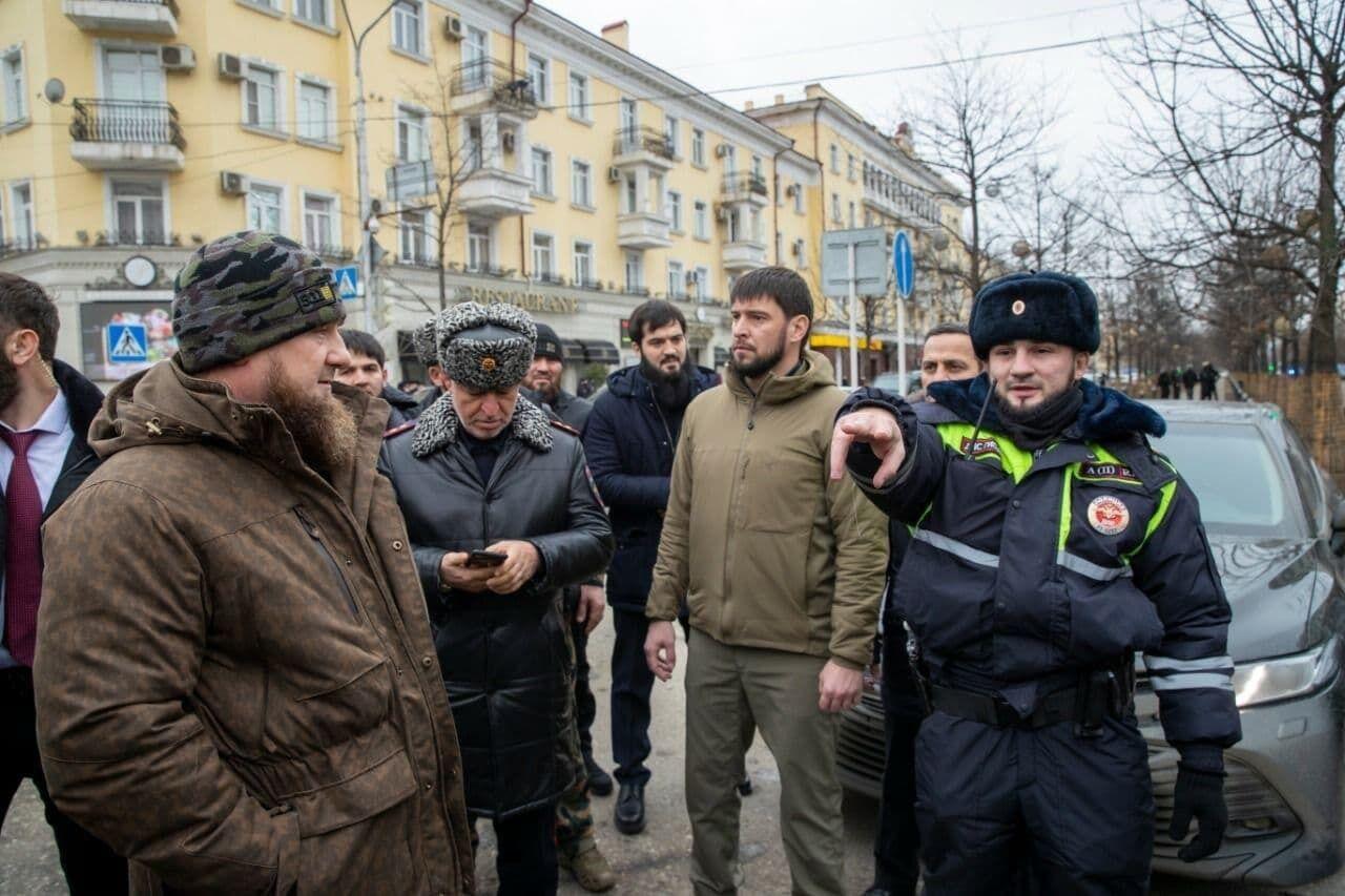 Кадыров побывал на месте трагедии