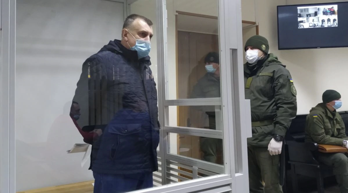 Микола Федорян у залі суду