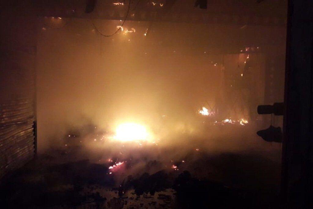 В Іркутську трапилася пожежа в адміністративній будівлі