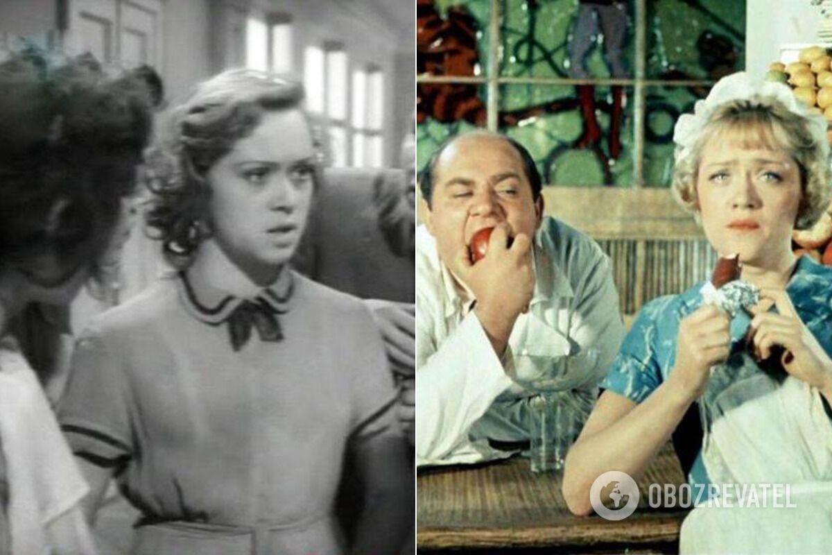 Кадры из фильмов с участием Алисы Фрейндлих