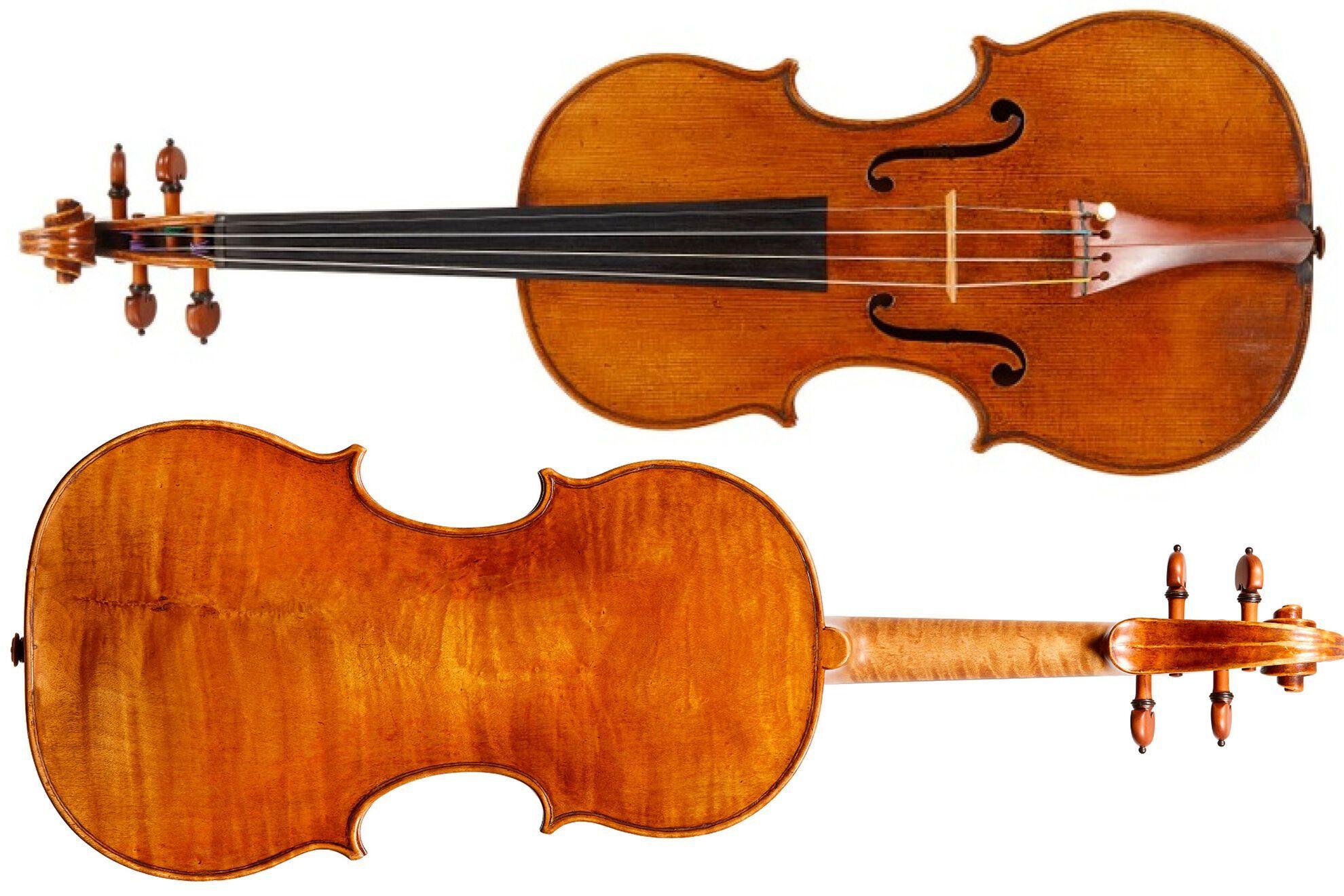 Украденная скрипка была изготовлена в 1710 году Иеронимом Амати
