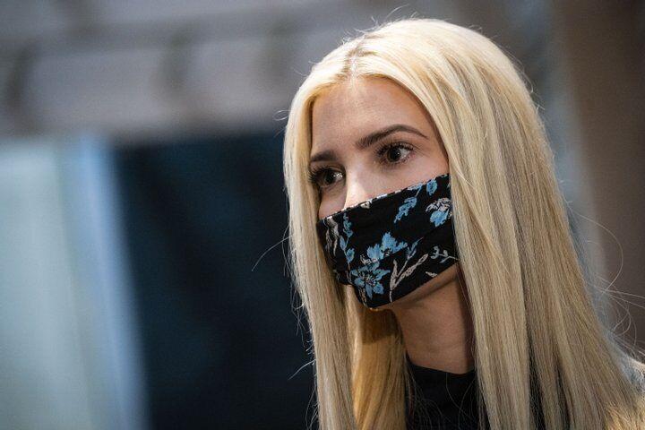 Иванка Трамп в маске