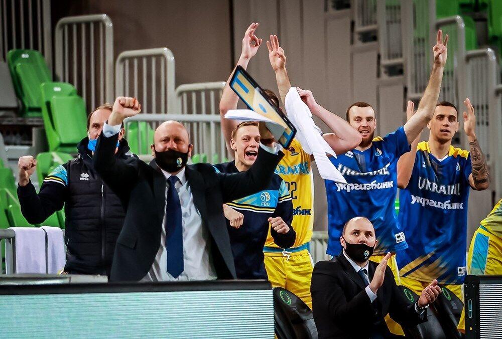 Украинцы победили Австрию и вышли на Евробаскет-2022.