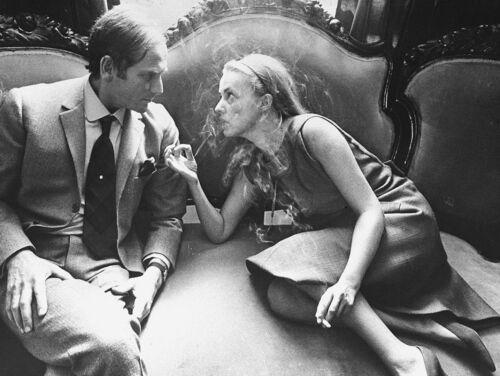 Пьер Карден и Жанна Моро, 1965 год.