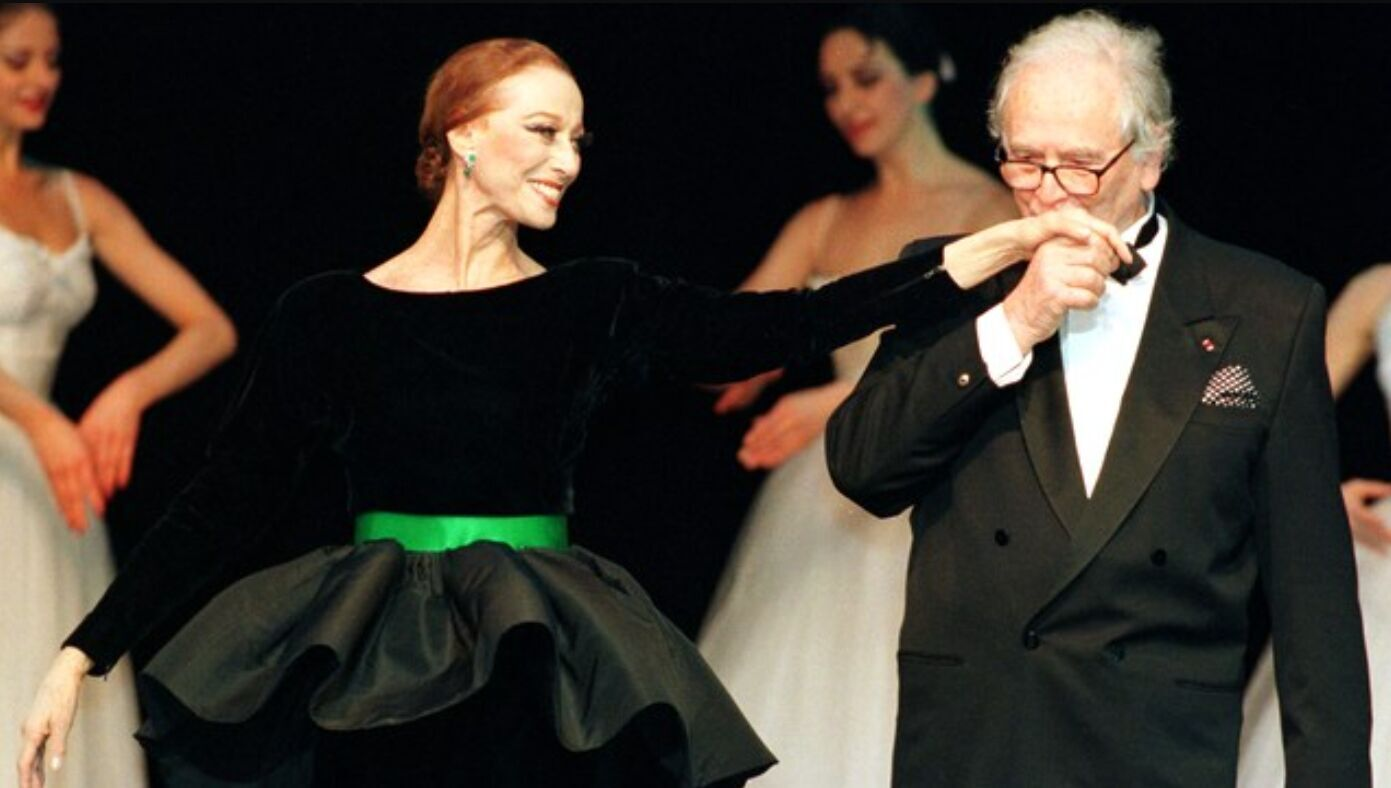 Майя Плисецкая и Пьер Каден