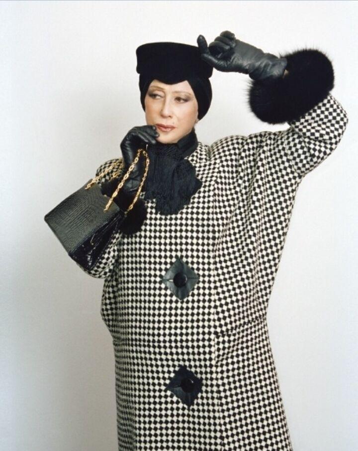Майя Плисецкая в одежде Pierre Cardin.