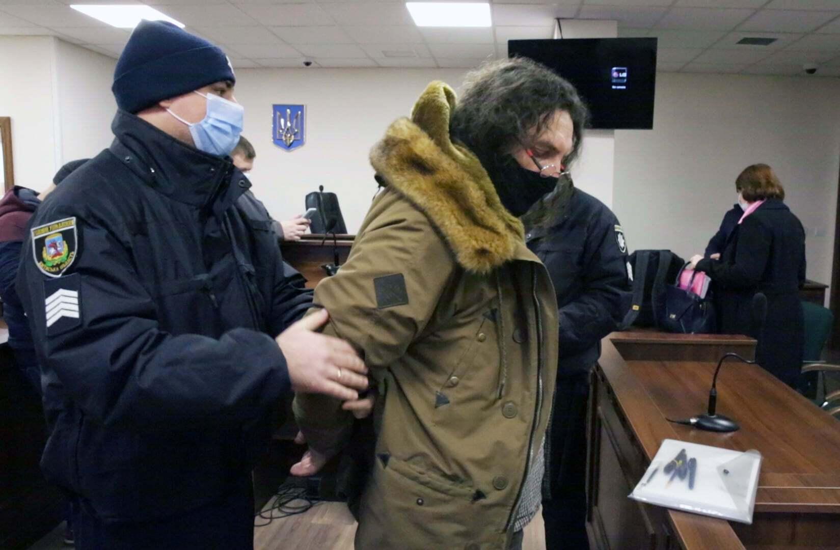 Александр Ктиторчук отправлен на два месяца за решетку.
