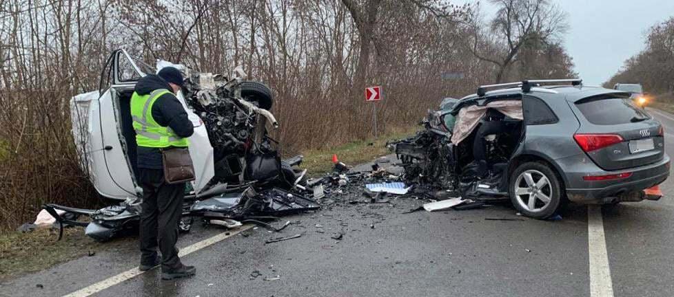 ДТП произошло на автодороге Львов – Луцк