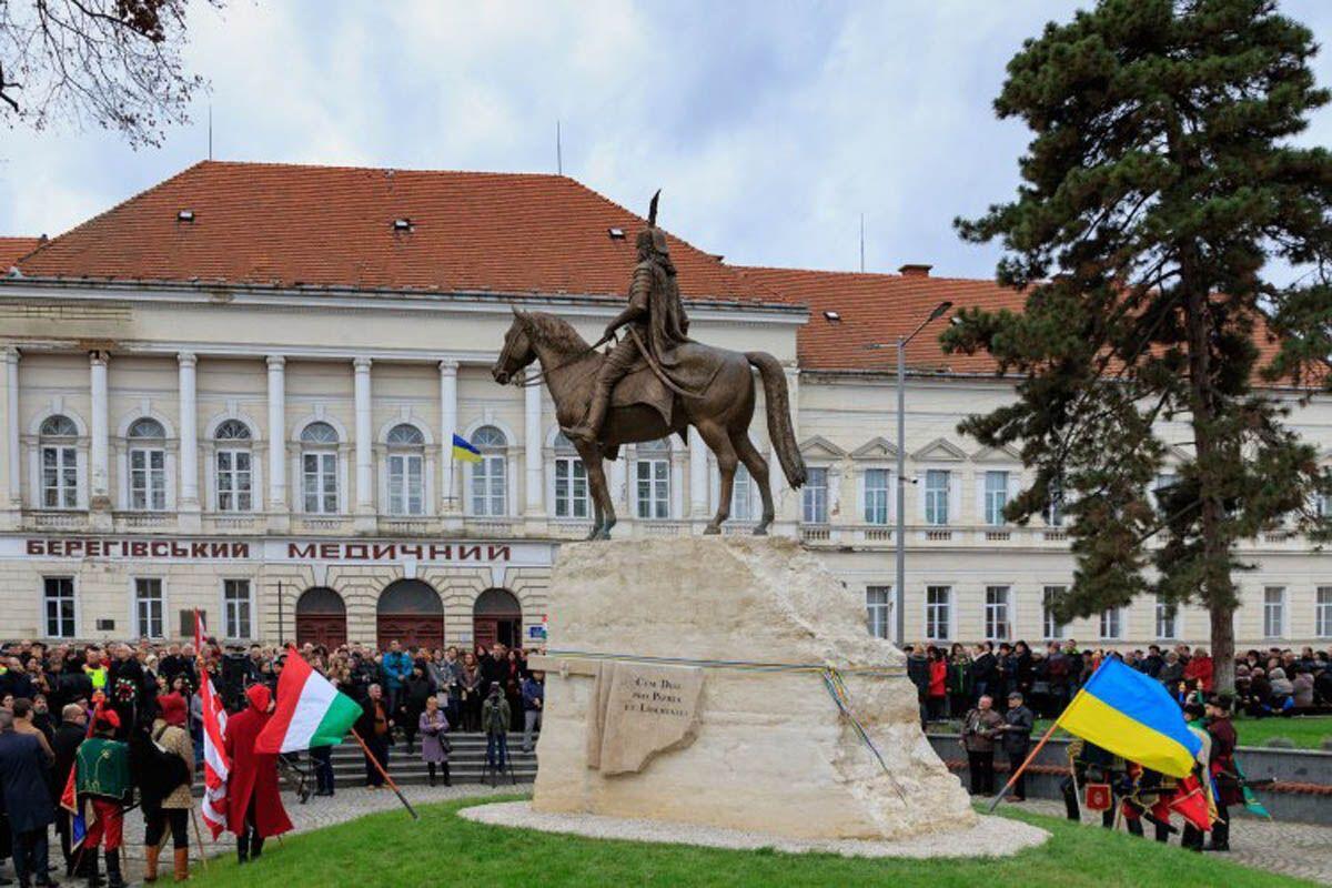 У закарпатському місті Берегово проживає близько 12 тис. угорців