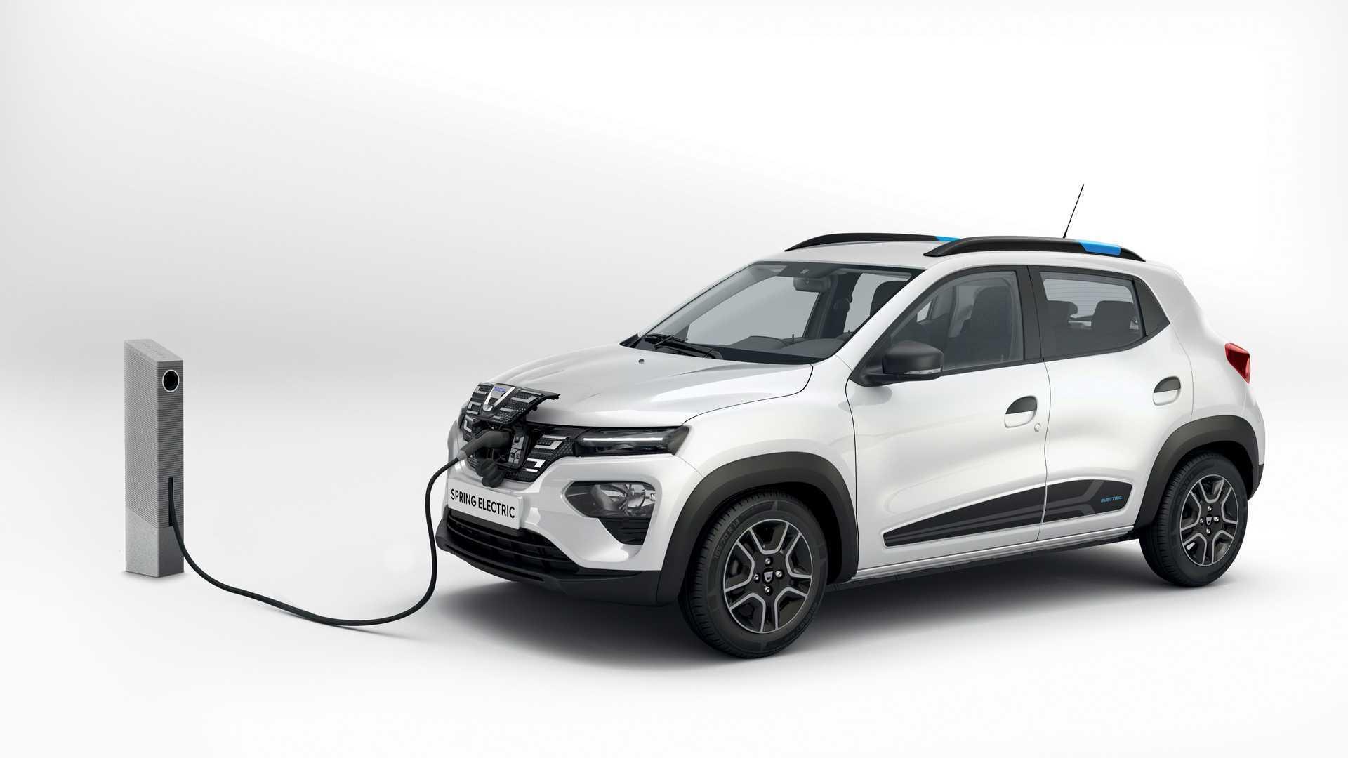 Довжина Dacia Spring становить менше 4 м