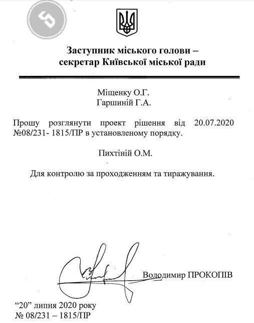 Решение о передаче земли в аренду.