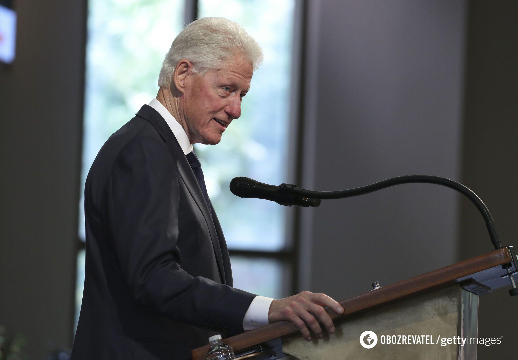 Билл Клинтон.