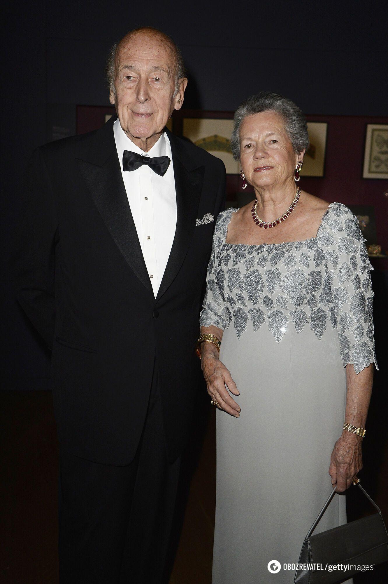 Жискар д'Естен з дружиною Анною-Еймон.