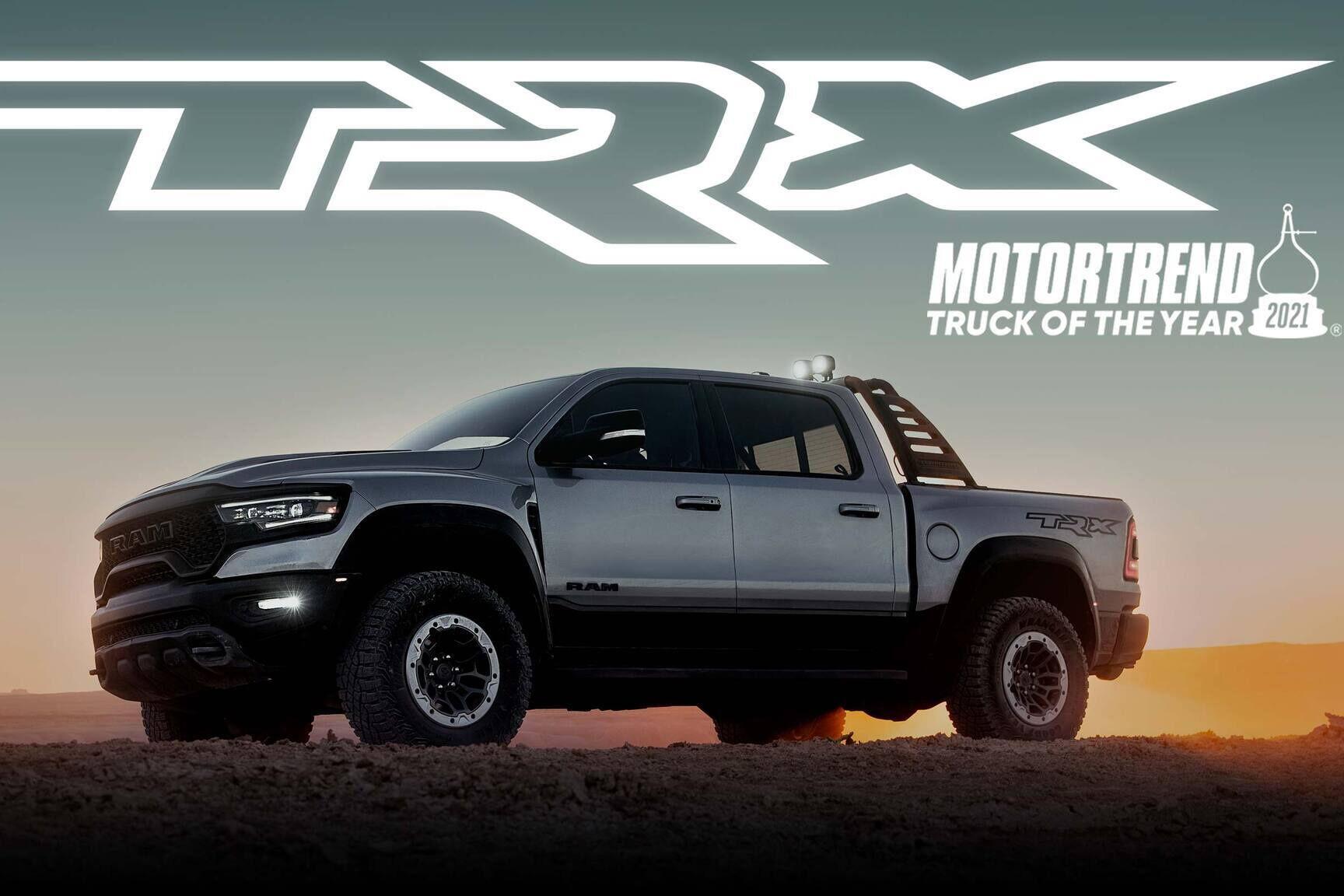 Ram 1500 TRX получила престижный титул американского журнала MotorTrend