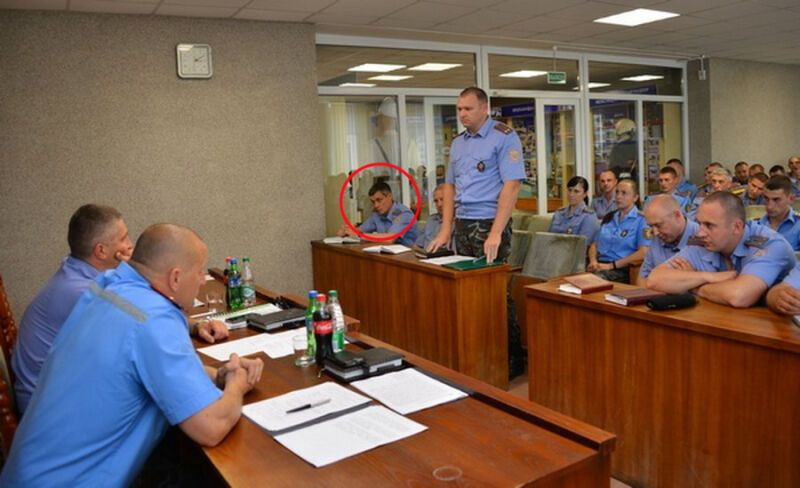 Анцупов на совещании белорусских милиционеров