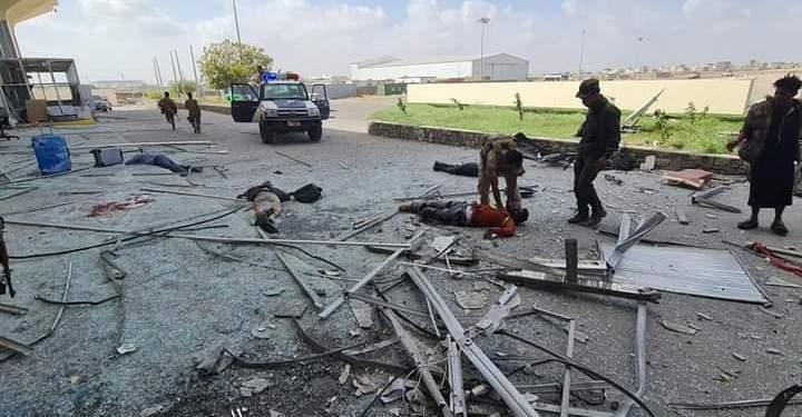 Вибух в аеропорту Ємену