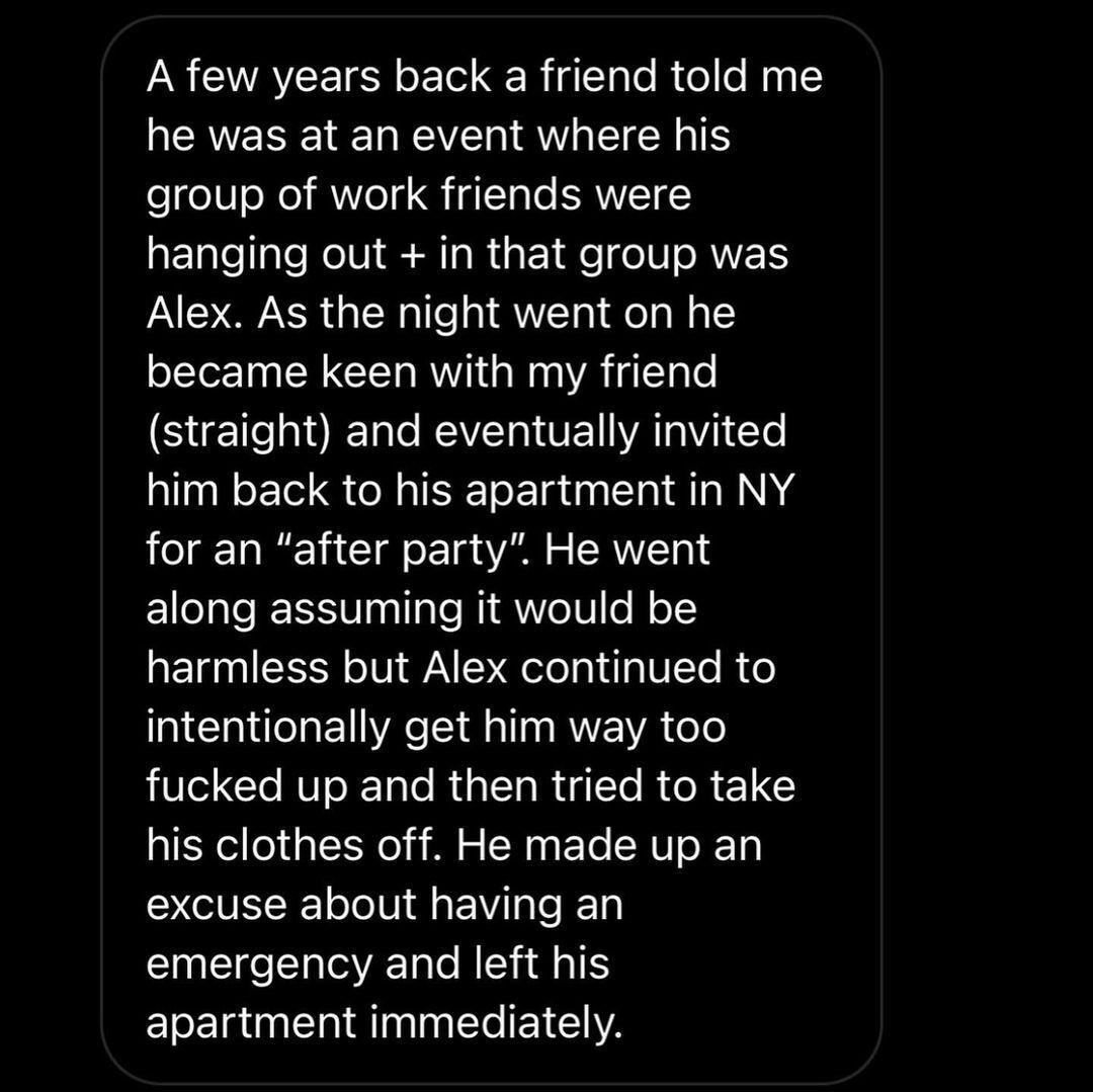 История о домогательствах Вэнга