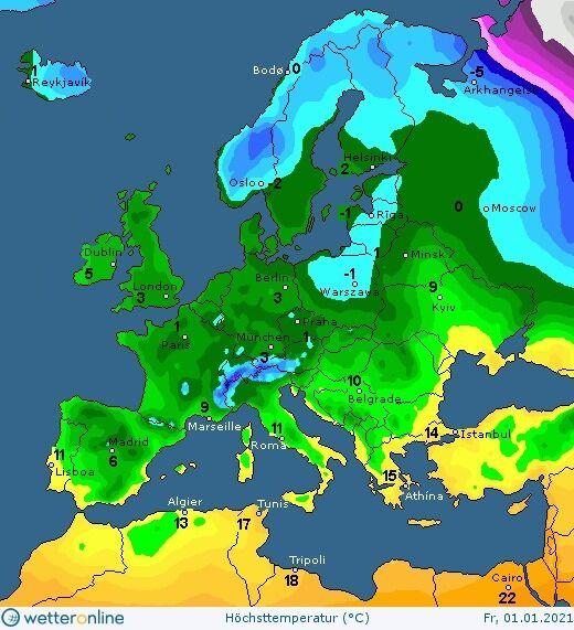 Погода в Киеве 31 декабря и 1 января