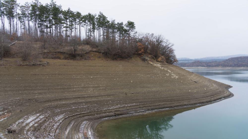 Партизанское водохранилище, январь-2020