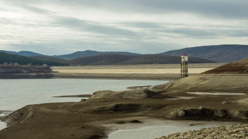 Загорское водохранилище, декабрь