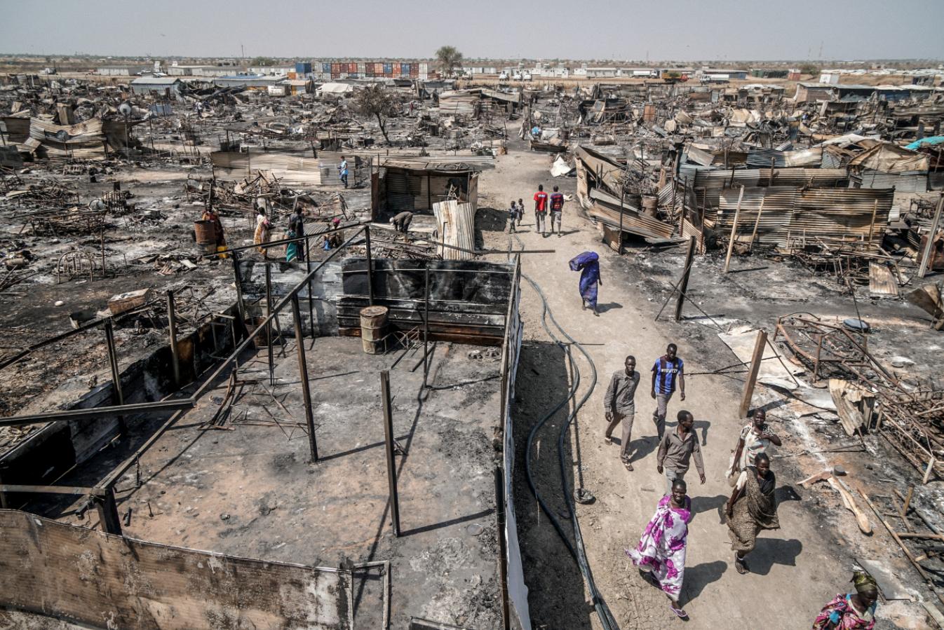 Розруха в Південному Судані після закінчення громадянської війни
