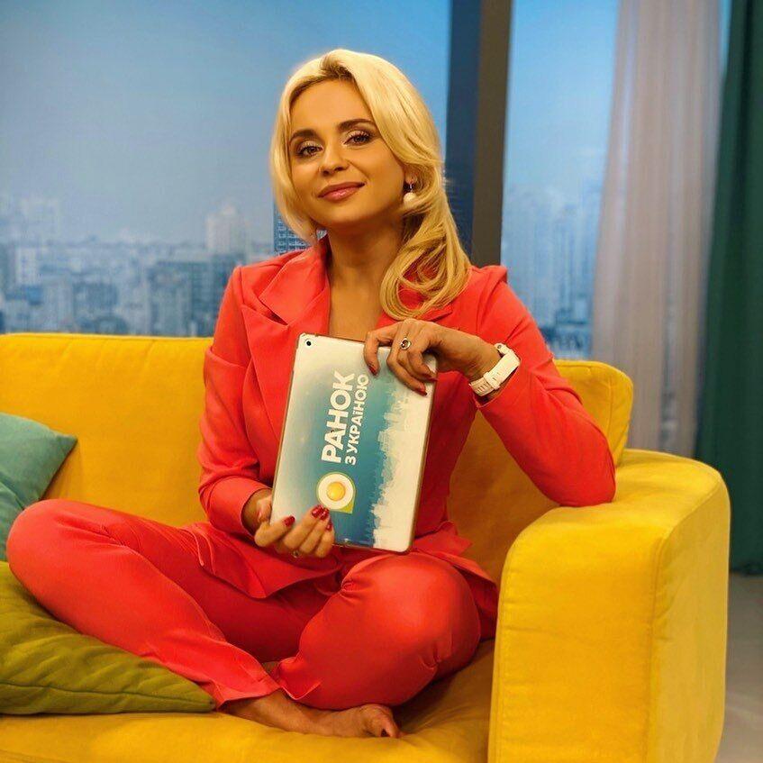 """Лілія Ребрик в ефірі програми """"Ранок з Україною"""""""